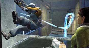 Игроки и NPC физически симулируются, что позволяет им взаимодействовать с объектами и транспортными средствами